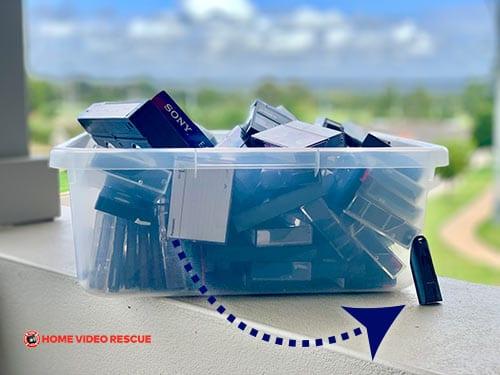Camera tapes to digital